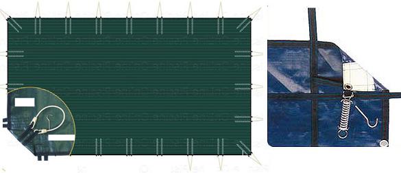 La manta filtrante para piscinas Vernosc