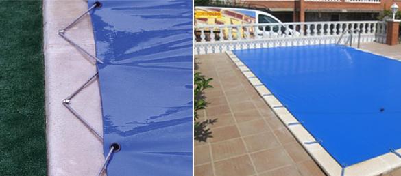 Cubiertas de lona para piscinas la web de la cubierta de for Lonas para piscinas baratas