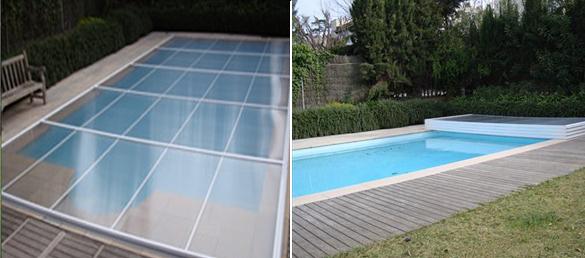 Bomba de calor o calentador el ctrico foros s lo for Cubierta de piscinas precios