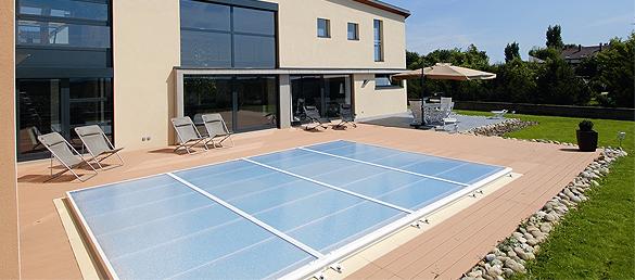 Una cubierta para piscina por qu la web de la - Cubierta de piscina ...