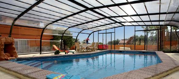 Cubierta para piscinas fija modelo carla la web de la - Cubierta de piscina ...