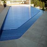 Cubiertas automáticas para piscinas, Nuevas láminas de Dekobo con la normativa francesa y antialgas