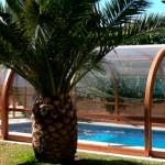"Cubierta Alta para piscinas modelo ""Júpiter"""