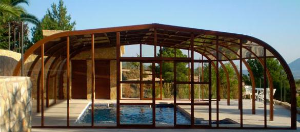 Cubierta de piscinas marte la web de la cubierta de piscina - Techo piscina cubierta ...