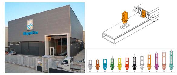 Sistema Maperclip en cubiertas y cerramientos de piscina, por Maperglas