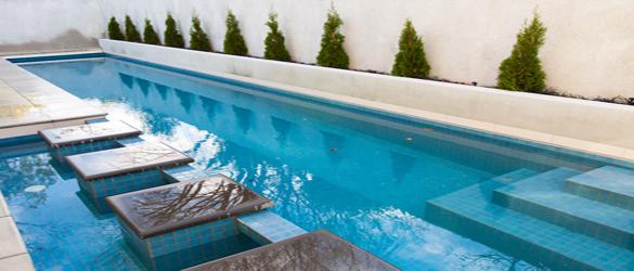 Mini-Infinity, cubierta de piscina automática
