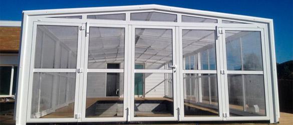 Nuevas fachadas plegables de Cubiertas para piscinas Orballo